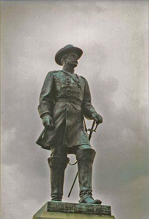 J. Otto Schweizer - General Andrew A. Humphreys (1919), Gettysburg Battlefield, Gettysburg, Pennsylvania.