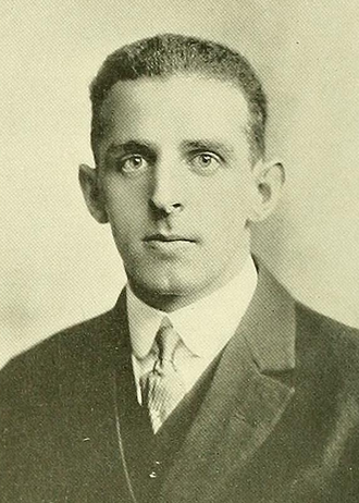 George Melican - Melican pictured in Index 1915, UMass yearbook
