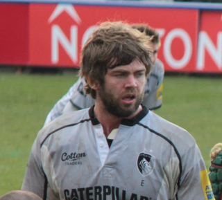 Geoff Parling Rugby player