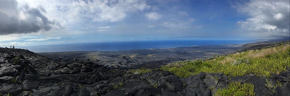 Geology Students working on east Kilauea rift zone
