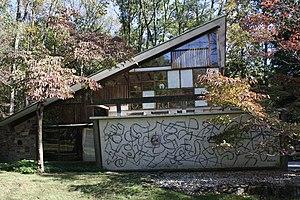 George Nakashima House, Studio and Workshop - Image: George Nakashima House, Arts Bldg