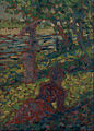 Georges Pierre Seurat - Woman in a Park - Google Art Project.jpg