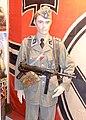German WW2 Waffen-SS uniform Oberscharführer Frw. Legion Norge Norw. volunteer Totenkopf side cap MP40 Cartridge pouches Ostmedaille Frontkjempermerket Infantry Assault badge SS eagle Kriegsflagge etc Arquebus Museum Norway 2020-06 8.jpg