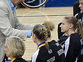 German players accept their silver medals at the 2014 Women's World Wheelchair Basketball Championship.jpg