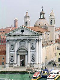 Gesuati facade Venice