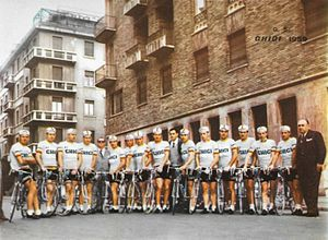 Ghigi (cycling team) - The Ghigi–Ganna team of 1959