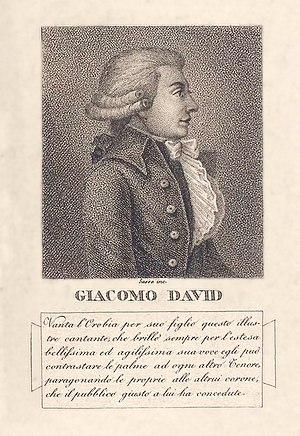 Giacomo David - Image: Giacomo David