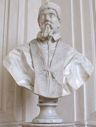 Busts of Pope Urban VIII - 4. Assistant of Gianlorenzo Bernini, Bust of Urban VIII, early 1640s