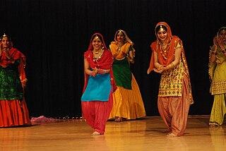Giddha folk dance