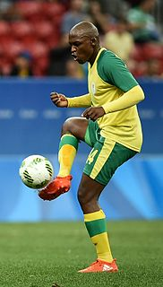 Gift Motupa South African association football player