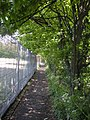 "Ginnel, from ""City Stadium"" towards Shieldfield Rd - geograph.org.uk - 1284090.jpg"