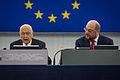 Giorgio Napolitano visite officielle Parlement européen de Strasbourg 4 février 2014 05.jpg