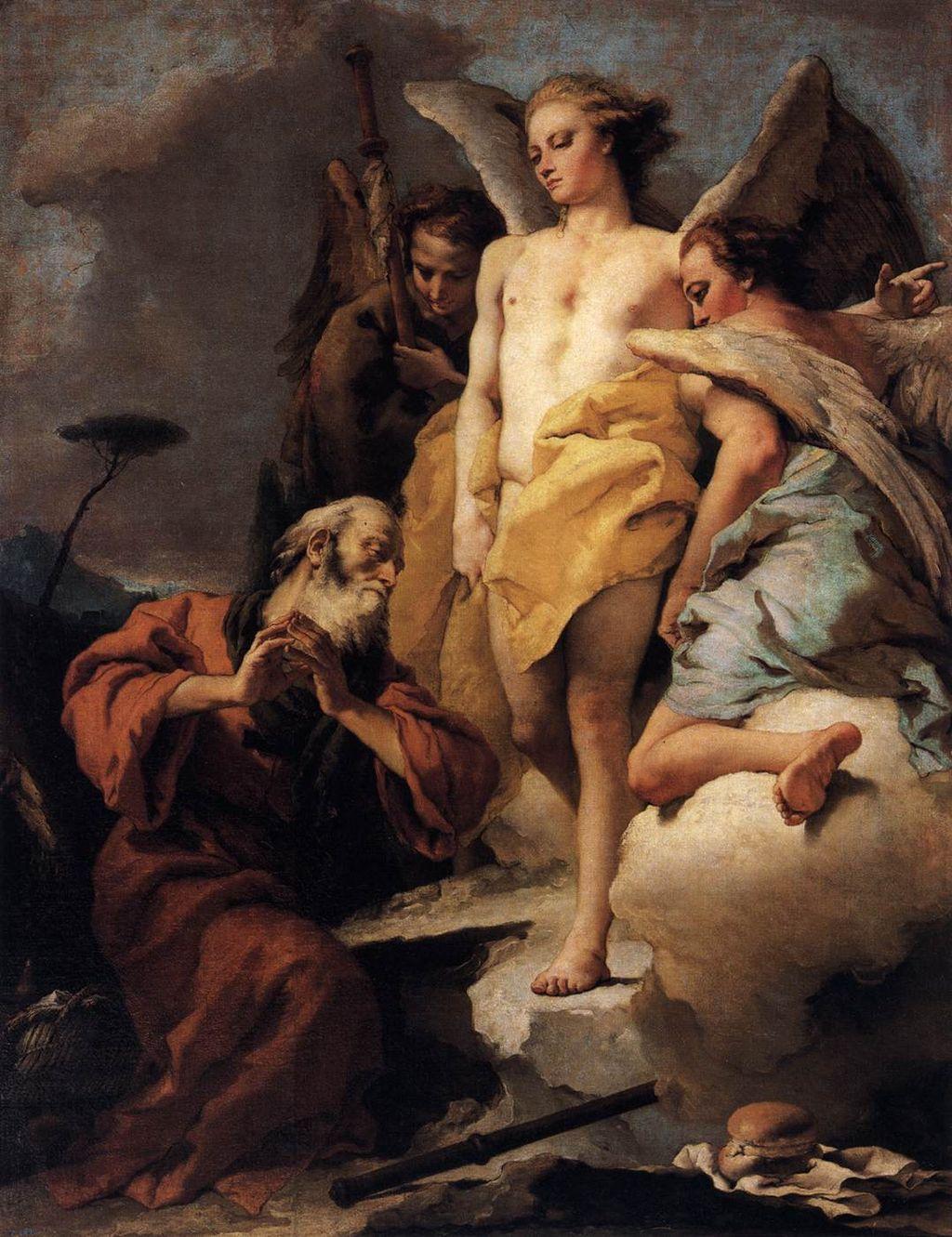 아브라함과 세 천사 (조반니 바티스타 티에폴로)