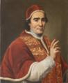 Giovanni Domenico Porta, Ritratto di papa Clemente XIV, olio su tela (70x58,5 cm), 1769-1770, foto dopo il restauro, Palazzo Vescovile, Museo della Città (Acquapendente).tif