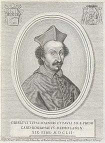 Giovanni Giacomo De Rossi, Il card. Giberto Borromeo.jpg