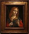 Giovanni ambrogio de' predis, ritratto di giovane come san sebastiano, 1488-90 ca.jpg