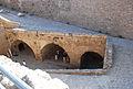 Girne Festung von der Mauer in den Eingangsbereich innen.jpg
