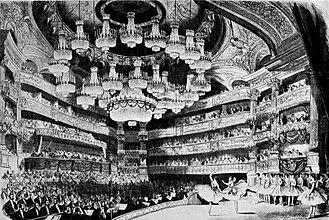 Salle Le Peletier - Image: Giselle Paris Opera 1867
