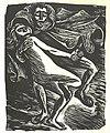 Goethe,Barlach,Walpurgisnacht, Faust, tanzend mit der Jungen.jpg