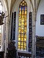 Goldenes Fenster 1433 gestiftet von Erzbischof Johann II. von Reisberg St. Leonhard ob Tamsweg.jpg