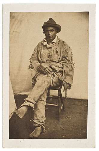 Gordon (slave) - Gordon; an escaped, African-American man, in 1863, just after he reached a Union Army camp, in Baton Rouge, Louisiana
