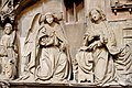 Gothic reliefs - Worms Cathedral - Worms - Germany 2017.jpg