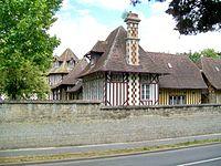Gouvieux (60), domaine des Fontaines (Capgemini), la Ferme Normande.jpg