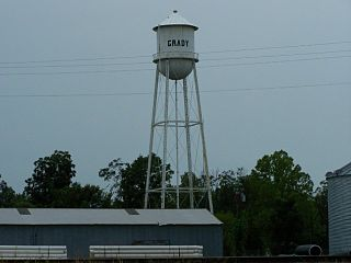 Grady, Arkansas City in Arkansas, United States