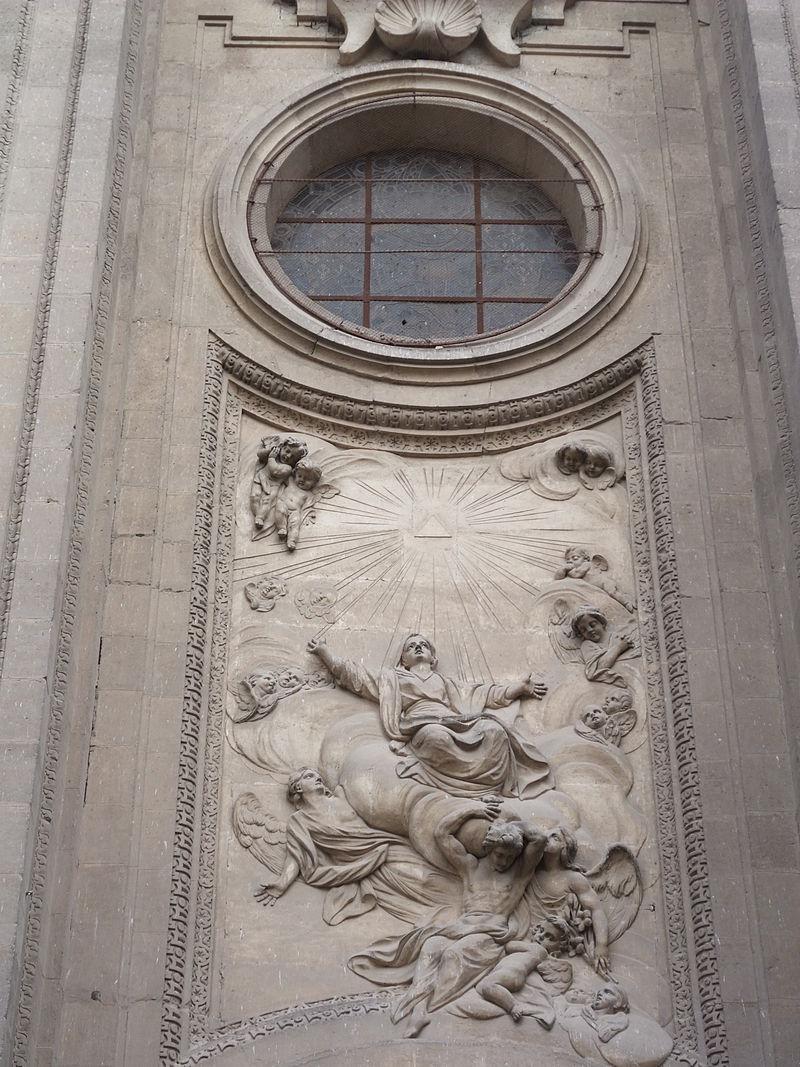 Granada-Catedral de la Encarnación-4-Puerta en Plaza Alonso.JPG
