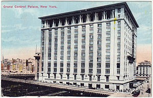Grand Central Palace - Postcard of the Grand Central Palace