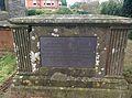 Grave in Churchyard at Shelton Notts in 2015 (1).jpg