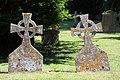 Gravestones in Lawshall churchyard - geograph.org.uk - 1379669.jpg