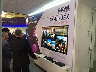 OpenTV - NAGRA's GRAVITY ULTRA HD UI demo at IBC 2014 in Amsterdam