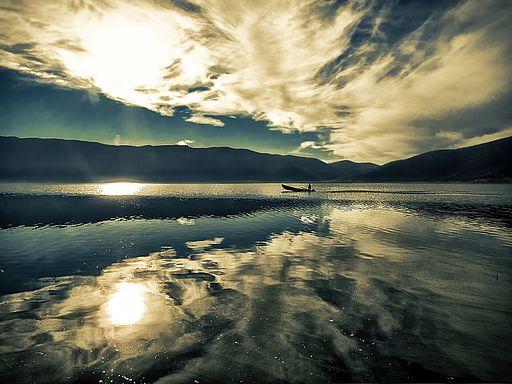 Great Prespa Lake