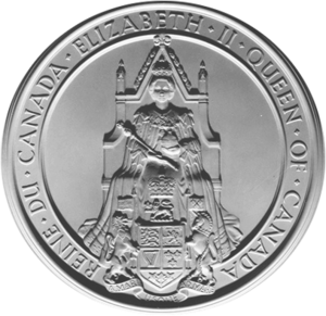 Great Seal of Canada - Image: Great Seal of Canada