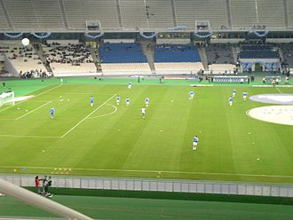 Olympic Stadium (Athens) - Image: Greece v Malta, 17 Nov 2007 (02)