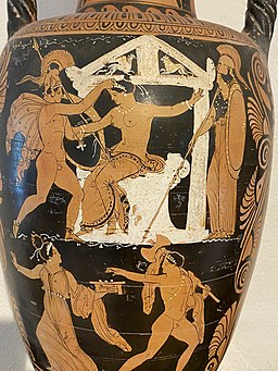 Greek vase capua