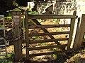Green Lane West gate, Shotwick.JPG