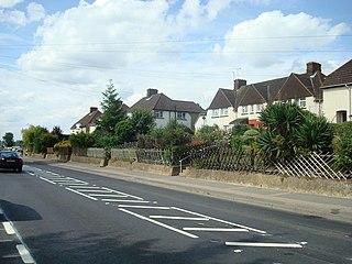 Darenth Human settlement in England