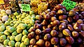 Green and Red Pears at the Mahane Yehuda Market, Jerusalem.jpg
