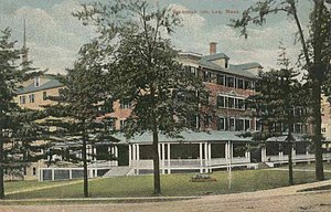Lee, Massachusetts - Greenock Inn in 1912