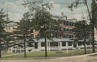 Lee, Massachusetts - Greenock Inn in 1912