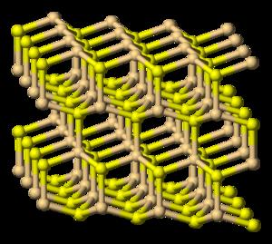 Cadmium sulfide - Image: Greenockite 3D balls