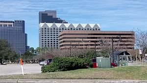 Greenspoint, Houston - Skyscrapers in the Greenspoint District