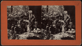 Group of people in Rock City, from Robert N. Dennis collection of stereoscopic views.png
