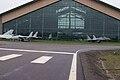 Grumman F-14D Super Tomcat 164343 Hughes H-4 Hercules Mikoyan-Gurevich MiG-29 Fulcrum-C Building EASM 4Feb2010 (14590309552).jpg