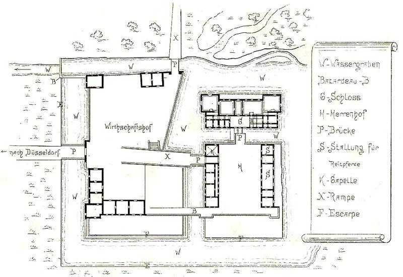 Схема замка Гугенпот