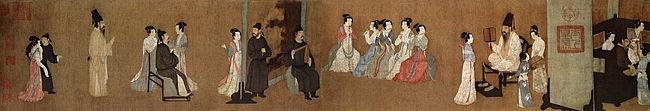 Night Revels of Han Xizai, XII c.
