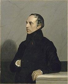 portrait de François Guizot par Jehan Georges Vibert