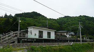 Gunma-Ōtsu Station Railway station in Naganohara, Gunma Prefecture, Japan